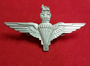 "British Parachute Regiment Pin. Pewter Look. 2.5"" wings. Absolutely Mint."