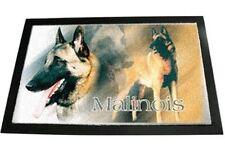 Designer Fussmatte Belgischer Schäferhund Malinoi 1 Hundeteppich Fussabtreter
