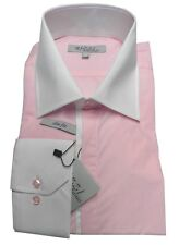 Chemise ANTONIO RIZZI rose clair HOMME manches longues T6 45 / 46  NEUF