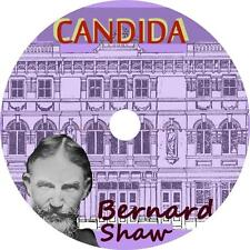 Candida, George Bernard Shaw Victorian Romance Comedy Audiobook on 1 MP3 CD