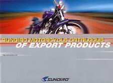 Sundiro - Modellangebot  - Prospekt  -  GB  -  nl-Versandhandel