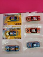 LOT of 6 Vintage #43 Hot Wheels Cars Richard Petty  Cheerios Lucky Charms NEW