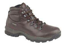 Hi Tec Men's Lace Up Walking, Hiking, Trail 100% Leather Shoes