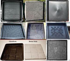 Schalungsformen / Giessformen Betonformen zum Steine selber giessen