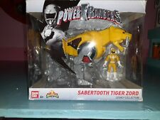 BANDAI power rangers legacy collection sabertooth tiger zord
