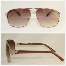 Wholesale Dozen Men Fashion Sunglasses Aviator New Hot Popular Metal Plastic 121
