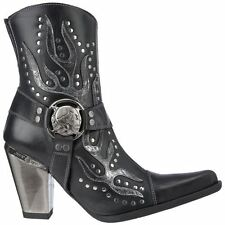 Zip Ankle Boots Geometric Shoes for Women