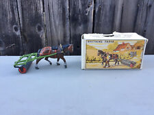 VINTAGE BRITAINS LEAD HORSE ROLLER No. 9F - NO FIGURE - DAMAGED BOX