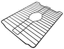 "Large Kitchen Dish Sink Protector Mat Vinyl Coated Steel 18"" X 12"" Durable"