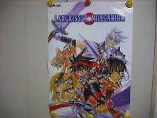 LANGRISSER MILLENNIUM OFFICIAL PROMO POSTER VERY RARE! AMAZING LOOKING POSTER!!!
