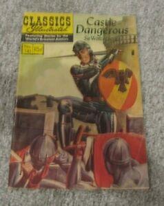 CLASSICS ILLUSTRATED #141 (1957) Castle Dangerous Sir Walter Scott
