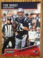 2018 Panini Playoff Football Tom Brady #125 quarterback new England Patriots