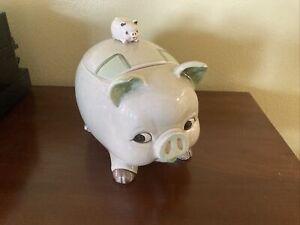 VINTAGE Cermaic Pig Cookie Jar Otagiri ?