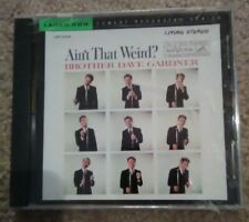 BROTHER DAVE GARDNER AIN'T THAT WEIRD CD BRAND NEW SEALED 2001 LAUGH.COM