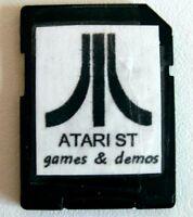 Atari ST / STE / TT : 100x GAMES + 60x DEMOS - BOOTABLE SD CARD for SATAN DISK