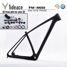 29er Mountain Bike MTB Frame 15'' T800 Full Carbon Bicycle Frameset Headset
