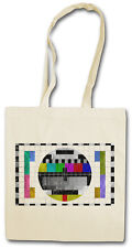TEST PICTURE VINTAGE II Hipster Shopping Cotton Bag - Theory Channel TV Bang