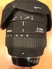 Sigma 10 x 20mm 1:4-5,6 DC EX Weitwinkel für Pentax