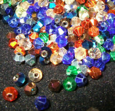 Crystal bicones, various colours & mixes, ideal for jewellery making & beading