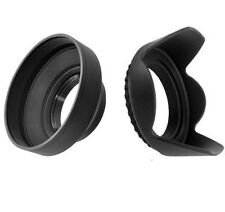 52mm Tulip Flower & Rubber Lens Hood for Nikon D5300 D5200 D3300 D3200 D3100 AFS