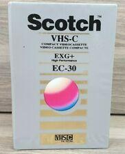 Scotch VHS-C Tape EXG+ EC-30