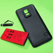 8900mAh Extended Battery Black Back Cover for Samsung Galaxy S5 SM-G900P I9600