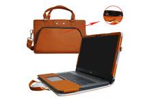 """Funda/Maletín Marron cuero 17.3""""HP Notebook 17 17-ak000 17-x000 17-bs000 17-y000"""