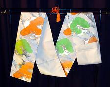 WALL DECORATE ART HANGING OBI TRADITIONAL JAPANESE Silk Kimono Belt Table Runner