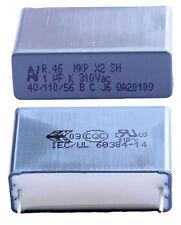 1 Capacitor Mkp X2 220-230V 1µF 1uF 1000nF 105K 105 K 310Vac 27,5mm