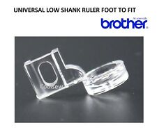 RULER WORK FRAME TEMPLATE QUILTING LOW SHANK FOOT - Screw Type - Fits BROTHER