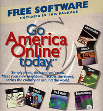 AOL America Online 3.5 Disk  Vintage Collectible Sealed RARE