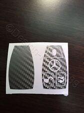 Carbon Anthrazit Folie Dekor Schlüssel Mercedes C E AMG Brabus W204 CLK W209  W