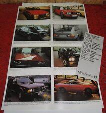 Alfa Romeo Programm 1991 Prospekt  brochure mehrseitig Werbung