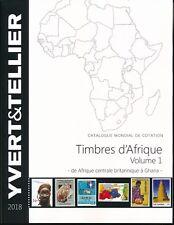 Catalogue des Timbres d'Afrique Volume1 de Afrique centrale Britannique à Ghana