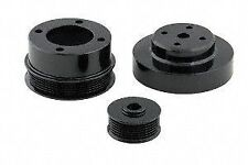 Pulley Set Underdrive Steel Crank Water Pump Alternator Serpentine Ford 5.0L 302