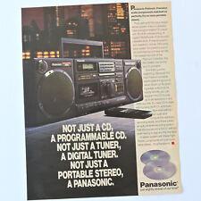 PANASONIC RX-DS660 / Advert Publicidad Publicite Reklame Pubblicita Boombox XBS