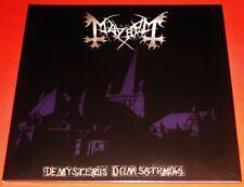 Mayhem: De Mysteriis Dom Sathanas Limited Edition LP Color Vinyl Record 2010 NEW