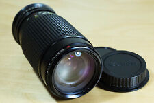 Tokina AT-X 50-250mm 4-5.5 adapted to DSLR Canon EF EOS in MINT condition