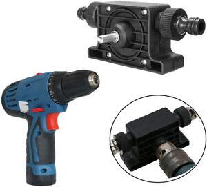 Electric Drill Pump Self Priming Transfer Pump Oil Fluid Water Pump Portable
