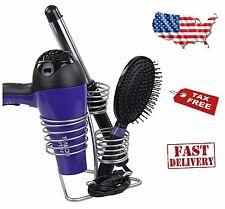 Blow Dryer Holder Hair Care Flat Curling Iron Stand Bathroom Storage Organizer