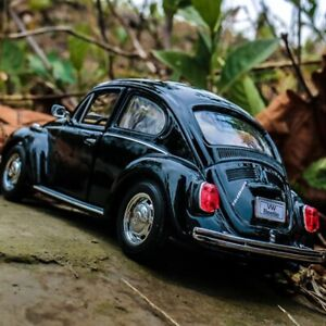 1:24 Volkswagen Classic Beetle Alloy Diecast Toy Model Car Ornament Collection