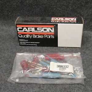 1980-1987 Audi 4000 Carlson Rear Drum Brake Spring Kit 17242 New In Box