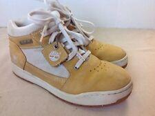 Nice Mens Youth  Tan Timberland Sneakers Sz 6M High Hi Tops Shoes Kids