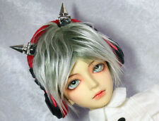 BJD Doll Dollfie Soundplay 1/3 Scale SD Headphones- Red Devil Horns Toy New Prop