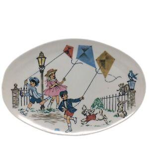 Mary Poppins Melmac Melamine Plate Vintage  Dinnerware Platter  Walt Disney