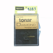 Replacement Record Stylus N44-G Needle for  SHURE M44G Cartridge by Tonar / Jico