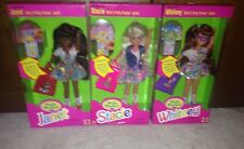 Stacie Whitney Janet Vintage Polly Pocket Doll Set 3 Barbie Skipper NRFB Mib New
