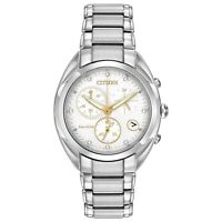 Citizen Eco-Drive Women's Chronograph Diamond Accents 35mm Watch FB1390-53A