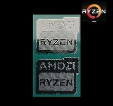 2x AMD RYZEN 7 Metal Case Badge Sticker Logo PC/Laptop 1800X/1700X USA Seller