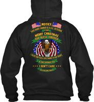 Us Veteran , Vietnam - Notice This Shirt Owner Is A Gildan Hoodie Sweatshirt